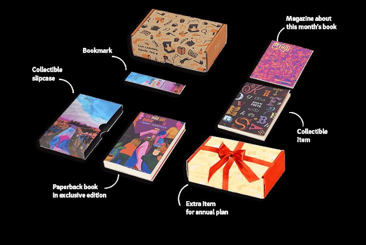 Annual box items